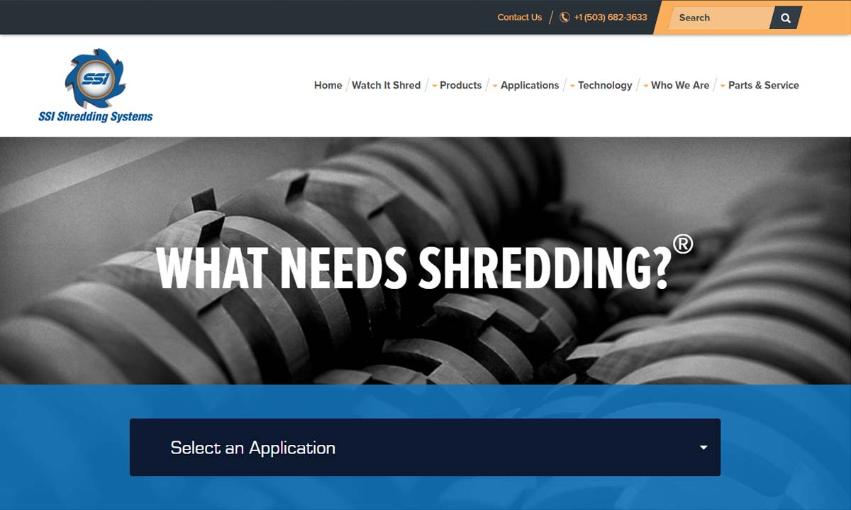 SSI Shredding Systems, Inc.