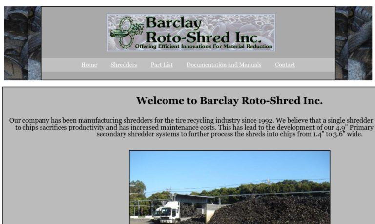 Barclay Roto-Shred Inc.