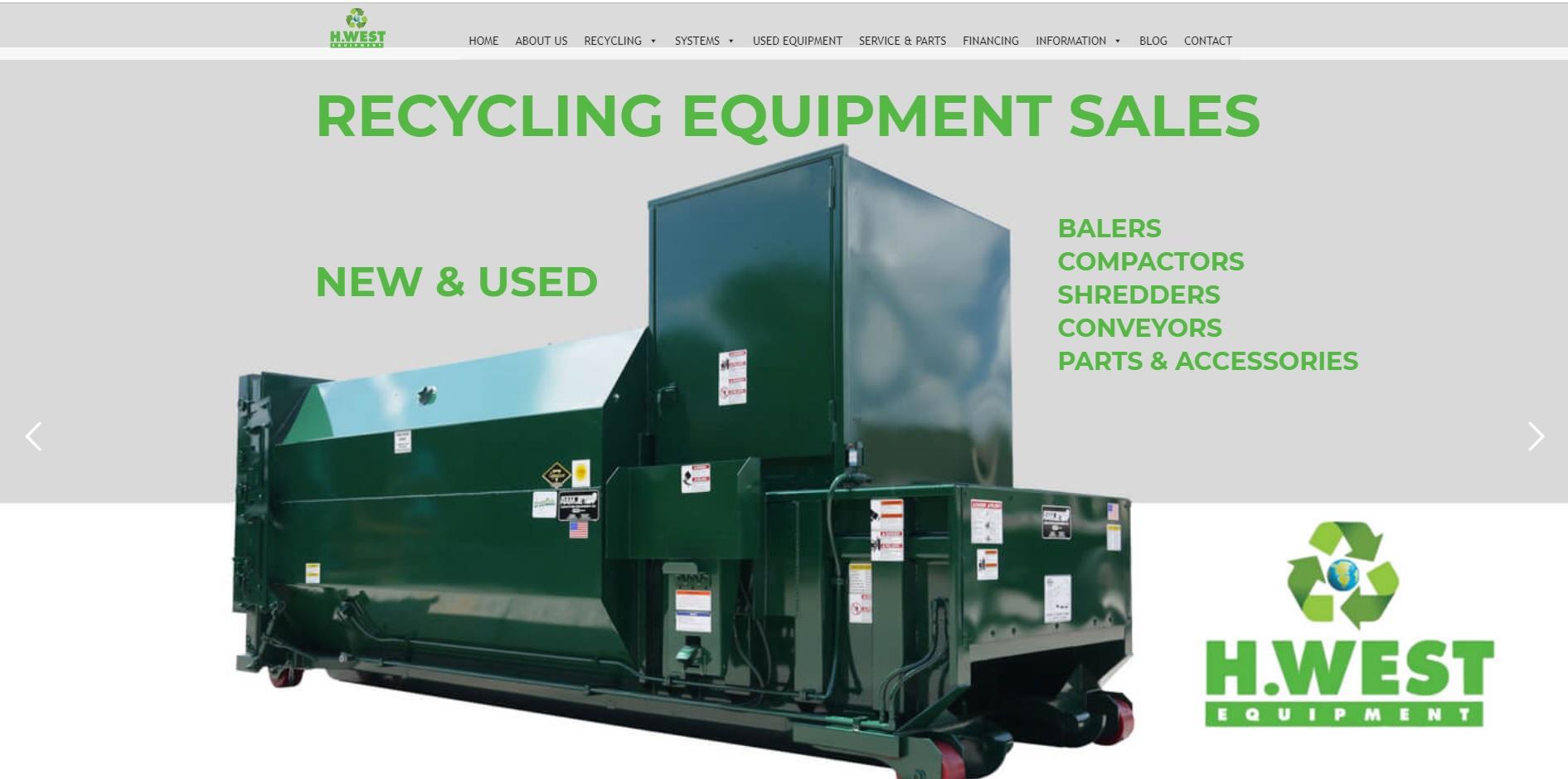 H. West Equipment, Inc.