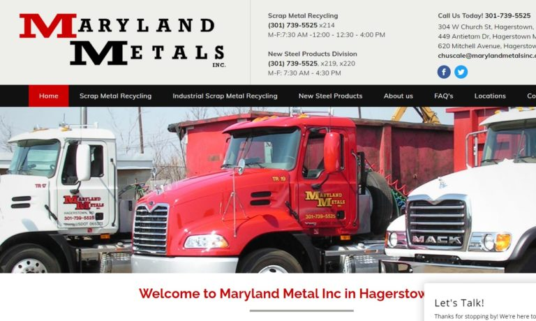 Maryland Metals Inc.